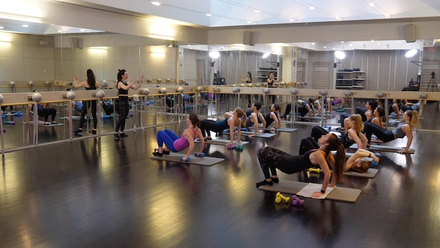 In-studio: Barre with Raphaelle Kessedjian, 5.3.19