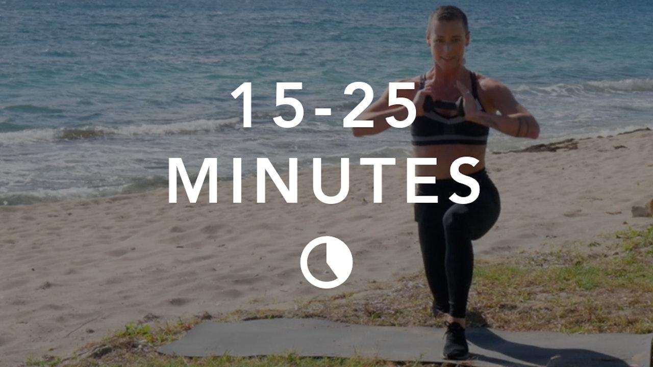 Cardio in 15-25 Minutes