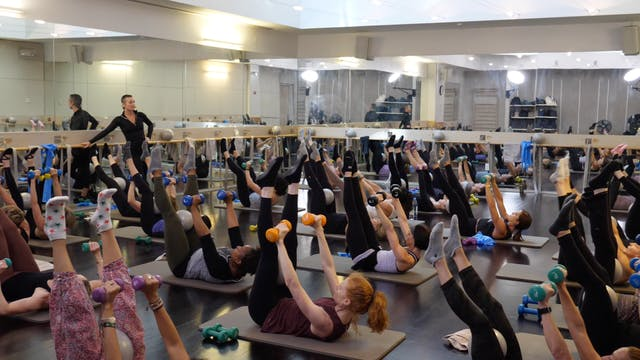In-studio: Barre with Bergen Wheeler,...