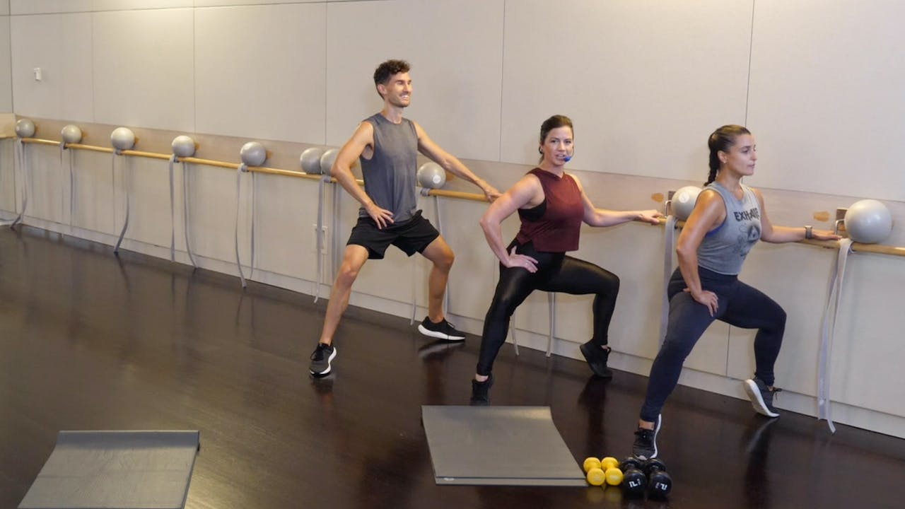 Barre Legs and Abs with Sarah Ambrose