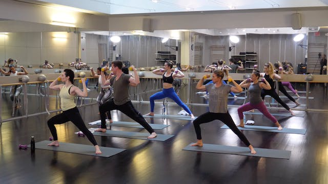 In-studio: Yoga with Weights with Nic...