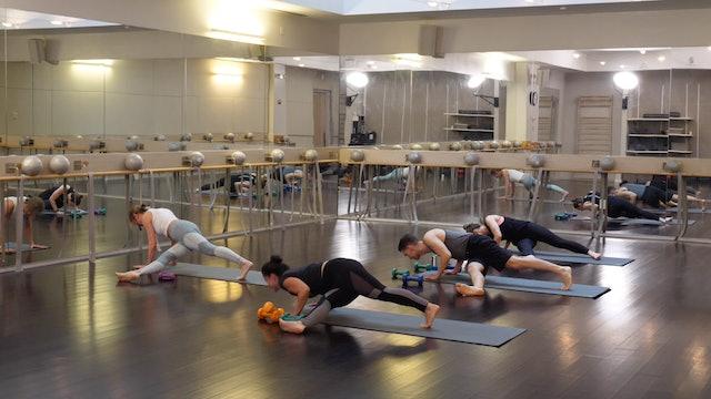 In-studio: Barre+Yoga with Elisabeth Halfpapp, 4.2.19