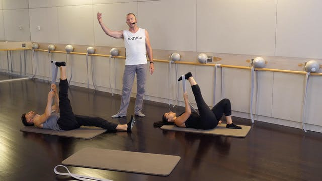 Barre Stretch Series with Fred DeVito