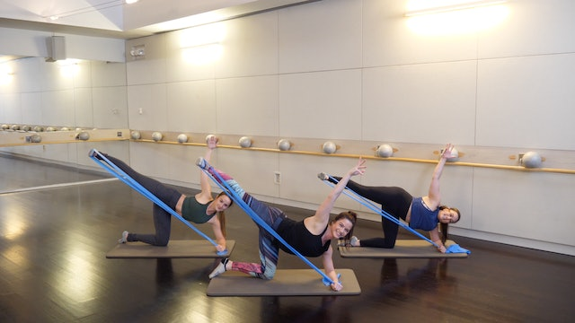 Barre Glutes and Abs with Sarah Ambrose