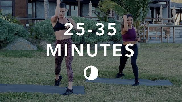 Cardio in 25-35 Minutes