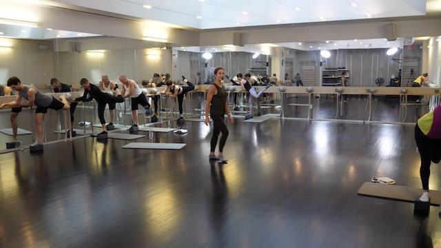 In-studio: Barre with Brianna Norton, 6.5.19