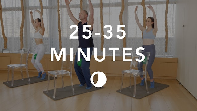 Barre in 25-35 Minutes