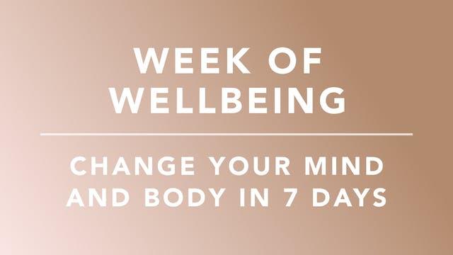 Week of Wellbeing
