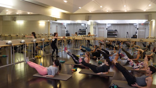 In-studio: Barre with Rachael Leitson...