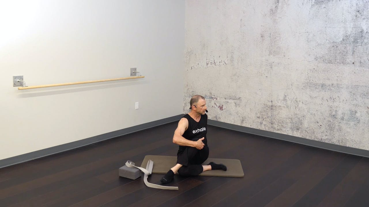 Restorative Stretch Session 3 with Fred DeVito