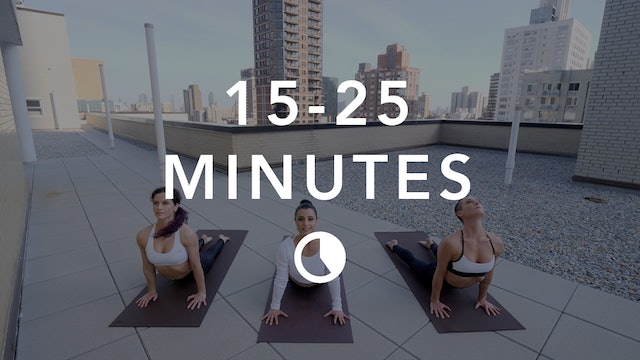 Yoga in 15-25 Minutes