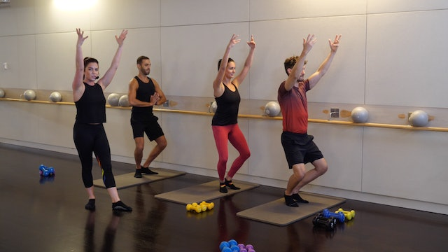 30-minute Advanced Barre with Sarah Ambrose 2