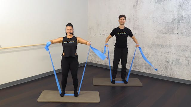 Upper Body Band Blast