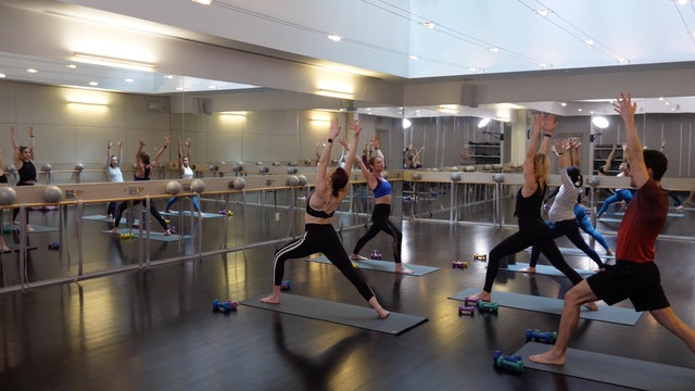 In-studio: Barre+Yoga with Elisabeth Halfpapp, 4.30.19