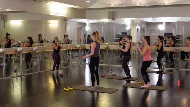In-studio: Barre with Nicole Uribarri...