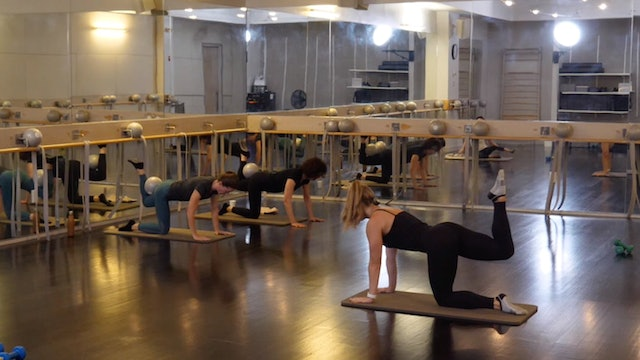 In-studio: Barre with Kate Havlicek, 10.10.19