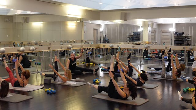 In-studio: Barre with Fred DeVito, 3....