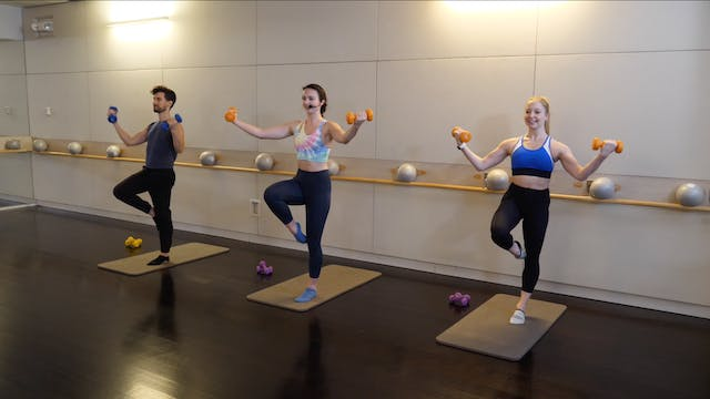 Advanced Barre with Leah Hassett
