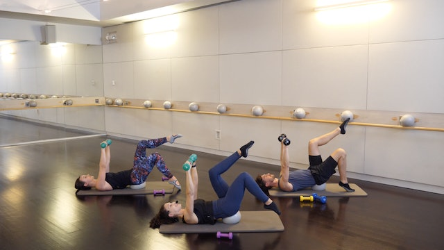 Upper Body Barre(less) with Antonella James