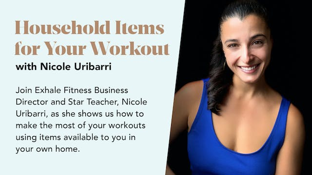 Household Items for Your Workout