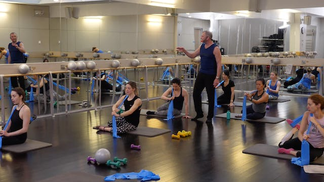 In-studio: Barre with Fred DeVito, 2....