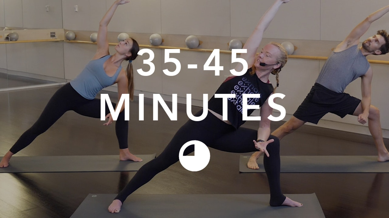 Yoga in 35-45 Minutes
