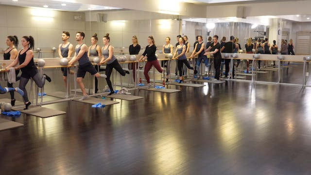 In-studio: Barre with Kevin Murnane, 4.19.19