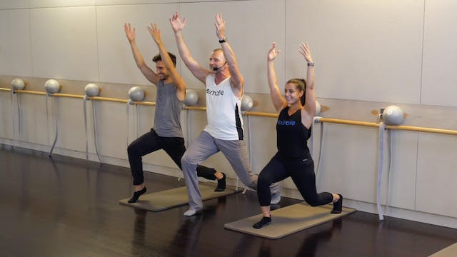 Barre Thighs and Glutes with Fred DeVito