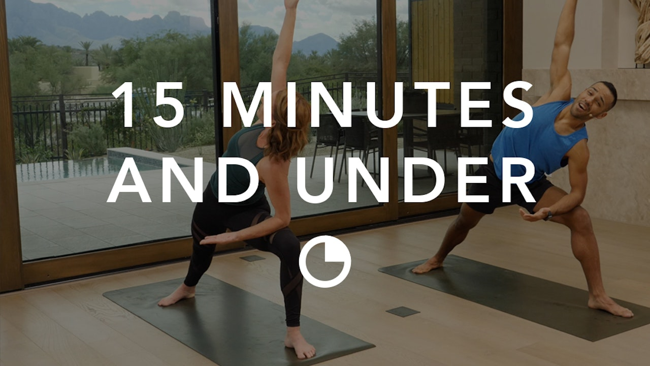 Yoga in 15 Minutes and Under