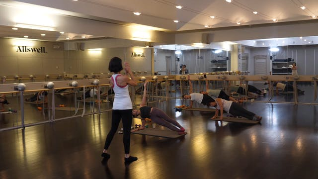 In-studio: Barre Express with Kat Ste...
