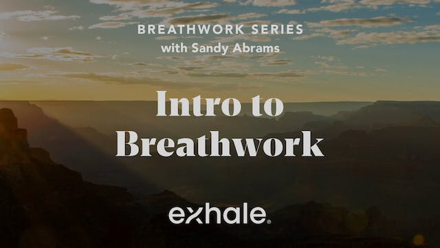 Breathwork Series: Intro to Breathwork