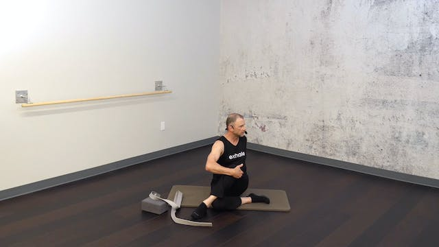 Restorative Stretch Session with Fred DeVito