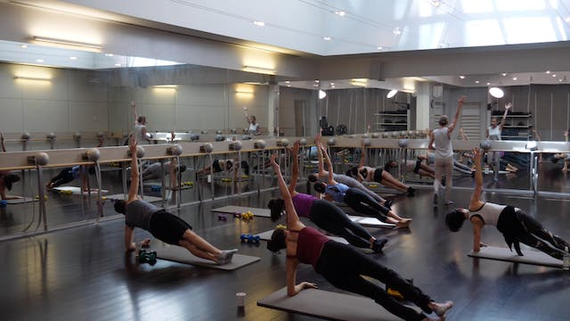 In-studio: Barre Mashup with Fred and...