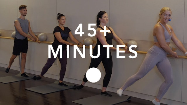 Barre in 45+ Minutes