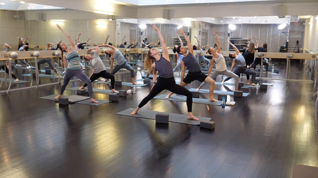 In-studio: Power Yoga with Erin Jacqu...