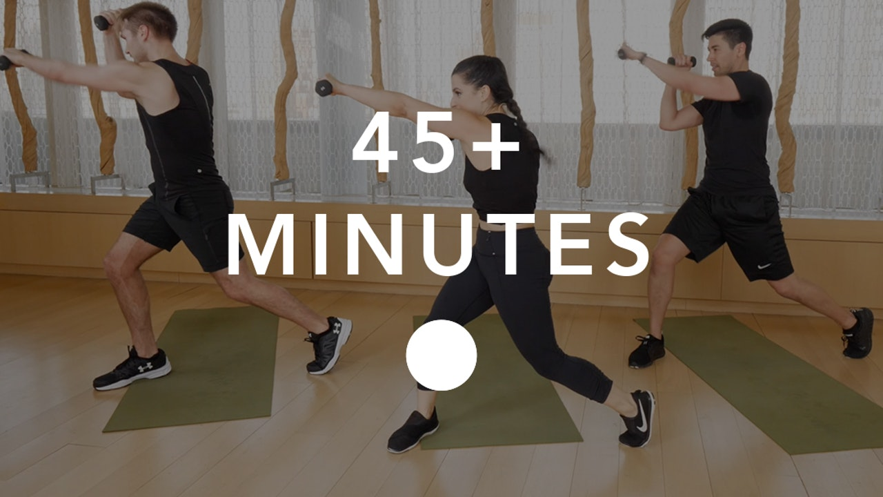 Cardio in 45+ Minutes