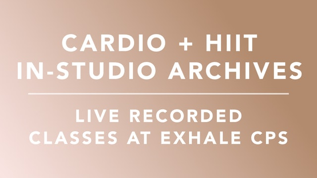 Exhale Cardio + HIIT: In-studio Class Archives