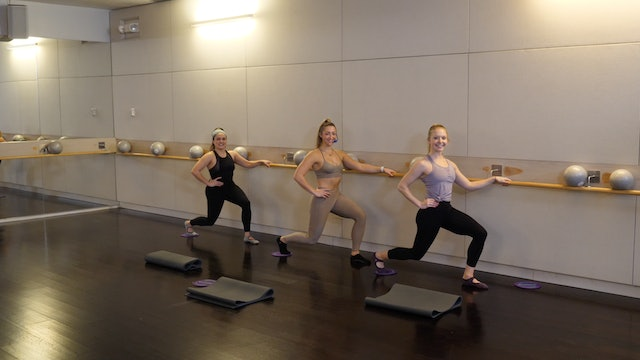 Barre with Gliders with Kate Havlicek