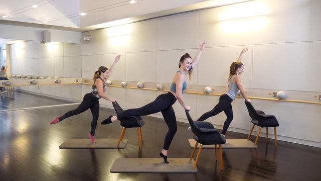 30-minute Barre with Leah Hassett 2