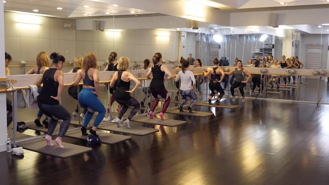 In-studio: Barre with Sarah Ambrose, 11.14.19