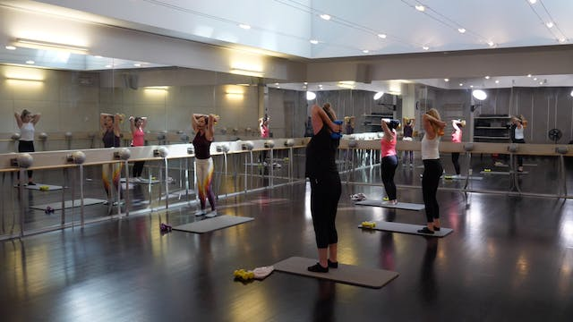In-studio: Barre with Brianna Norton,...