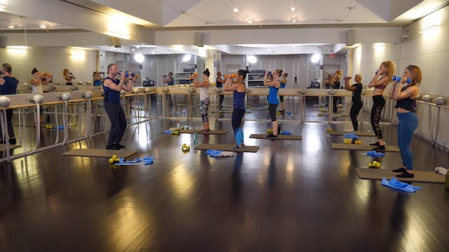 In-studio: Arms and Abs Blast with Fr...