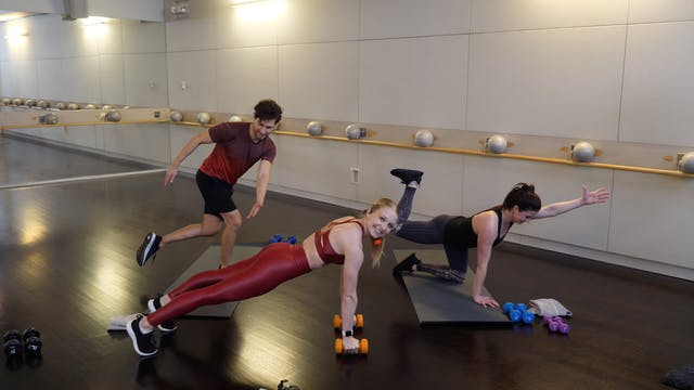 HIIT Barre Rotation with Ellen Mihalick