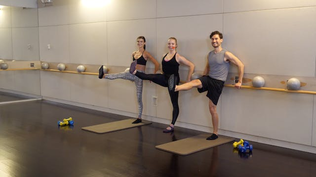 30-minute Barre with Ellen Mihalick