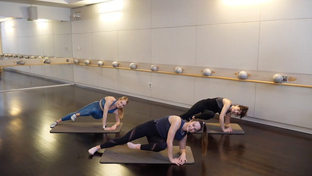 Inner Thigh and Oblique Burnout with Leah Hassett