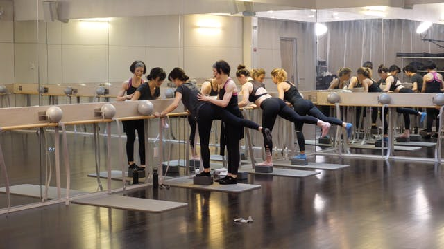 In-studio: Barre with Kat Steers, 4.2...