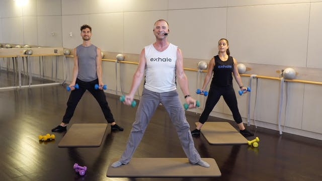 Barre Upper Body Blast with Fred DeVito