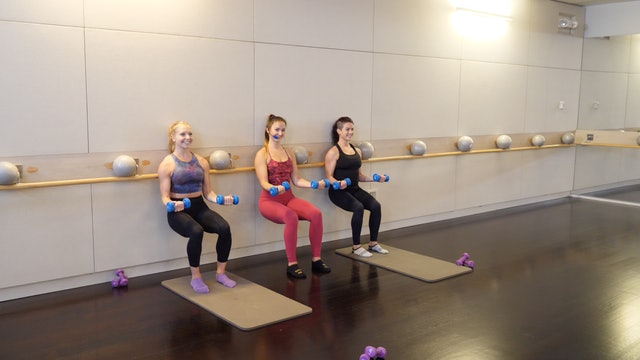 30-minute Barre with Leah Hassett