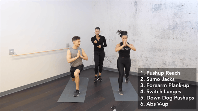 HIIT Circuit at Your Pace