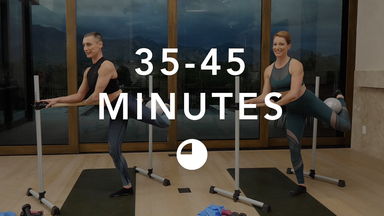 Barre in 35-45 Minutes